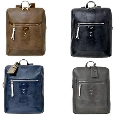 비아모노 V14F-3030 리자드 스퀘어 백팩 가방
