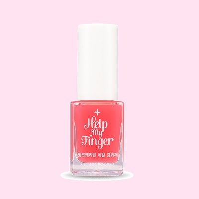 [에뛰드] 헬프 마이 핑거 핑크케라틴 네일강화제
