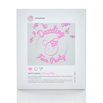 [엘리베어] 젤리 마스크팩 5매 Set - 럭셔리베이비(미백톤업)