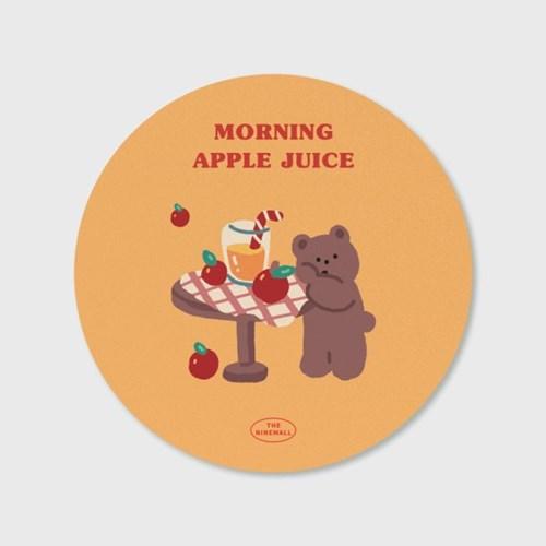 yellow gummy apple juice 마우스패드