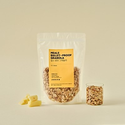 [NEW] 밀스 방탄 그래놀라 치즈 (10회분) *키토제닉 식단관리*