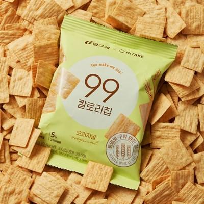 [NEW] 통밀로 구운 고단백 스낵, 99칼로리칩*20봉 (오리지널)