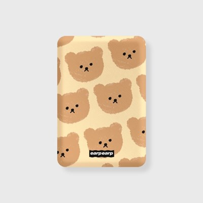 Dot big bear-ivory(무선충전보조배터리)_(1660111)