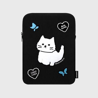 [04.26 예약배송]Awesome cat-black(아이패드 파우치)