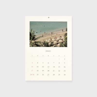 2021 Calendar_Wishing for Bon voyage