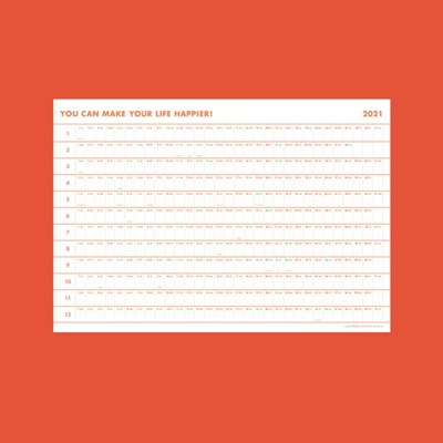 [Calendar] 2021 Big poster calendar