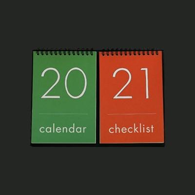 [Calendar] 2021 Desk calendar