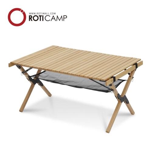 RCE 포레스트 우드 롤 캠핑 테이블 900