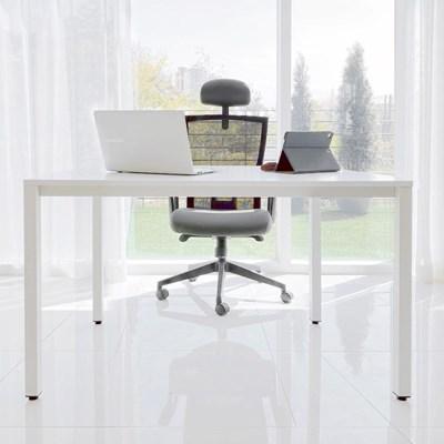 DK9898 필웰 스틸프레임 심플 책상 테이블1200x600 DVX_(303083031)