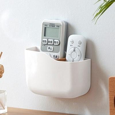 벽걸이 리모컨 정리 핸드폰 꽂이 소품 수납 정리함 2type