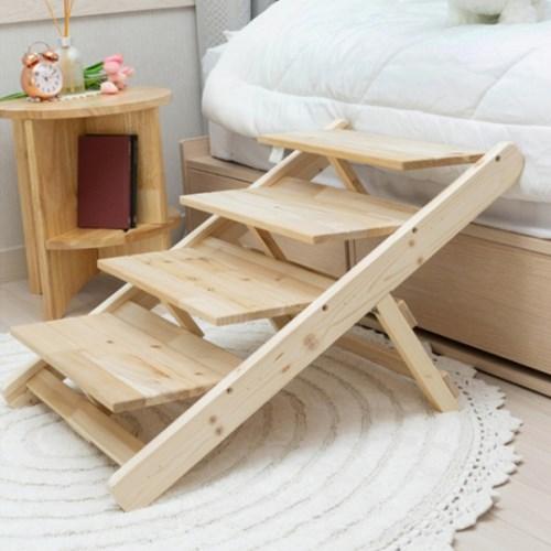 강아지 접이식 원목 침대계단 슬라이드 미끄럼방지 매트 5종