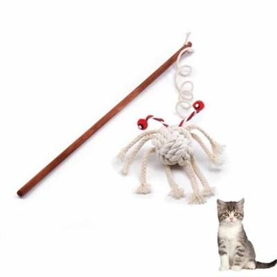 펫존 스파이더 완드 낚시대 고양이 장난감