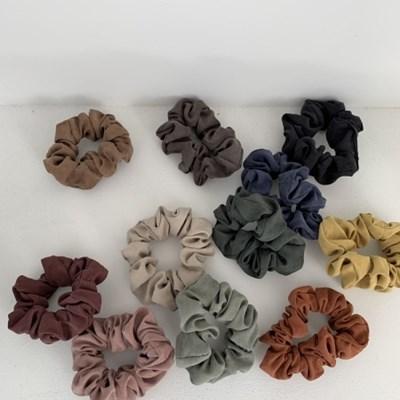 [바로배송] 데일리 매트 곱창머리끈 MINIsize 11colors