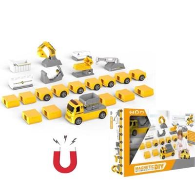 맥킨더 8in1 DIY 변형 건설 자동차_(367180)
