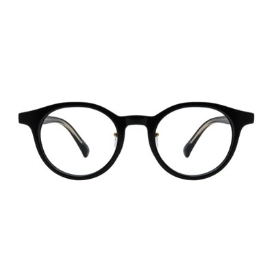 Day BLACK 라운드 뿔테 안경