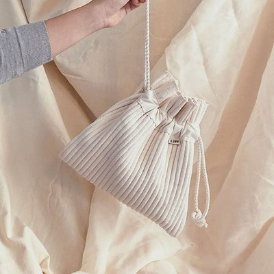 cotton pouch - large