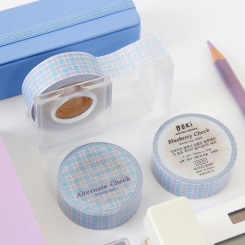 Alternate Check Masking Tape [Blueberry]