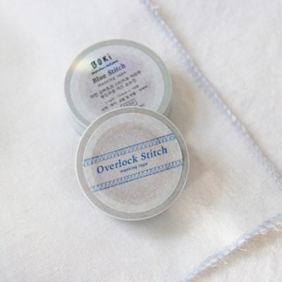 Overlock Stitch Masking Tape [Blue Stitch]