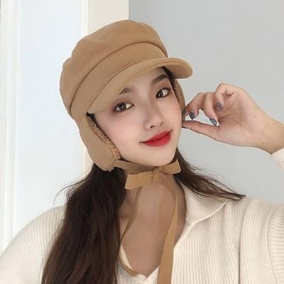톨이 여성 겨울 귀달이 모자 팔각모 버킷햇_(2479269)