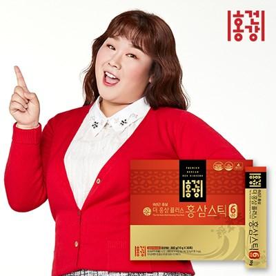 홍건강 더 홍삼 플러스 6년근 홍삼스틱 +쇼핑백증정