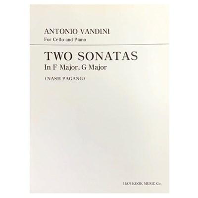 ANTONIO VANDINI For Cello and Piano TWO SONATAS