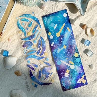 우주컨페티(Ocean) 스티커
