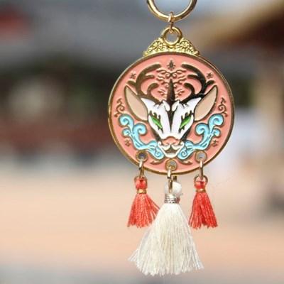 전통 영물 키링(기린)