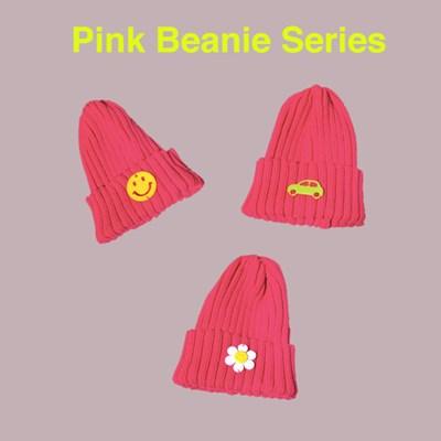 핑크 비니 시리즈 (3 types)