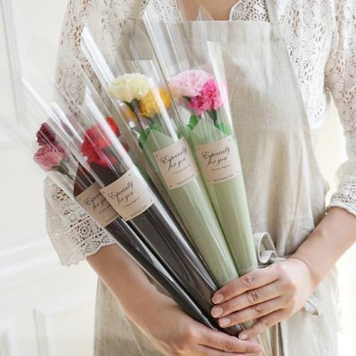 카네이션비누꽃 두송이포장
