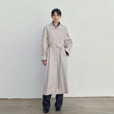EVER BOY-FIT TRENCH COAT_BEIGE