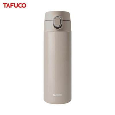 타푸코 스텐레스 진공단열 원터치 텀블러 450ml 코코아 / TOT-450CO