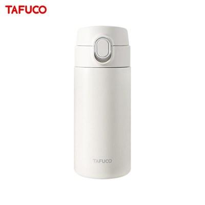 타푸코 스텐레스 진공단열 원터치 텀블러 350ml 화이트 / TOT-350WH