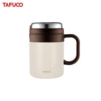 타푸코 스텐레스 진공단열 밀폐 차망머그 500ml 베이지 / TMC-500BG