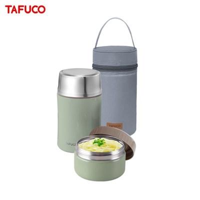 타푸코 스텐레스 진공단열 보온죽통 찬통세트 650ml 그린 / TGS-650G