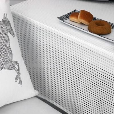[나산] 테이블커버 자카드 레이스 T814-1 130x180cm 4인