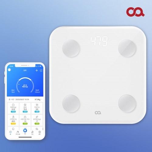 [오아] LED 스마트 가정용 인바디 체중계