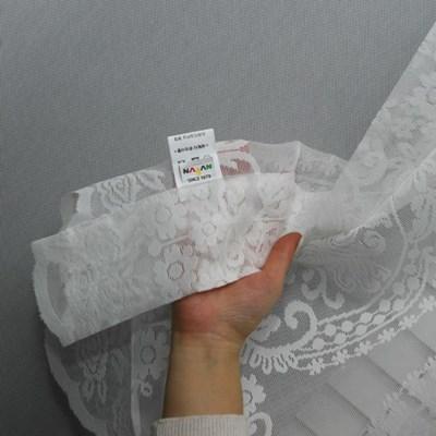 [나산] 봉커튼 자카드 레이스 카페 발란스 K931-2 200x1