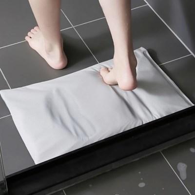 빨아쓰는 순간 흡수 규조토 욕실 화장실 발매트 2color