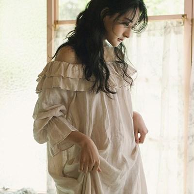 리젤 러플드레스 : Liesel ruffle dress