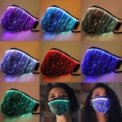 LED 클럽 마스크 (충전식, 7색상변환)_(301830969)