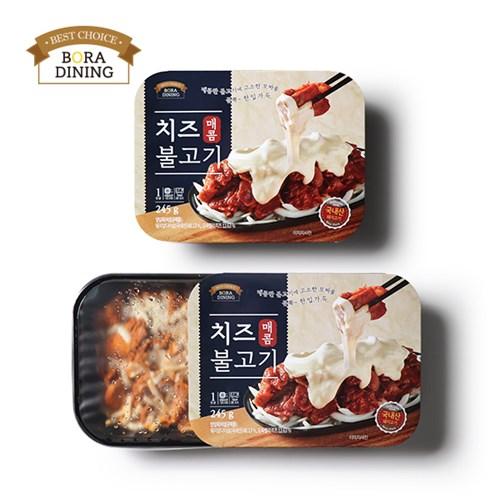 [보라다이닝] 치즈 매콤불고기 245g_(741046)