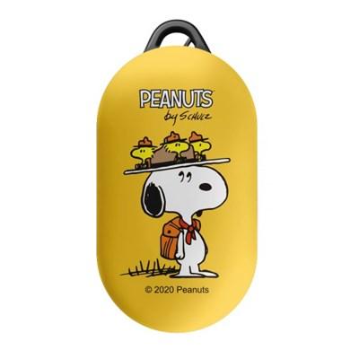스누피 캠핑 버즈플러스 하드 케이스      옐로우