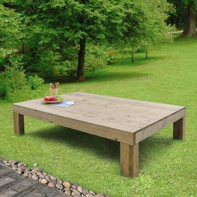 원목 벤치의자 옥상평상 야외용테이블 중형/도토리