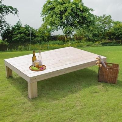 야외평상 야외정자 정원벤치 테이블 중형/무도장