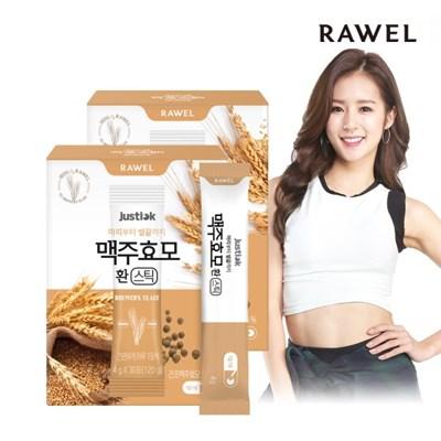 로엘 저스틱 맥주효모 환 스틱 (4g x 30포) 2박스