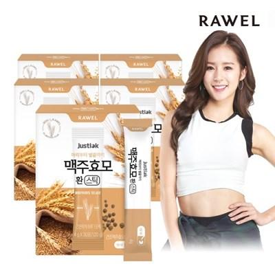 로엘 저스틱 맥주효모 환 스틱 (4g x 30포) 5박스
