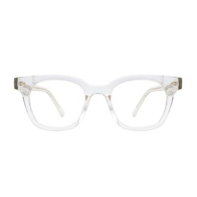 Der CRYSTAL 스퀘어 투명 뿔테 안경