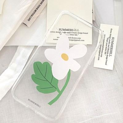 white flower case _ jelly