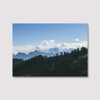 Deep in a mountain - Jitten 인테리어 포스터