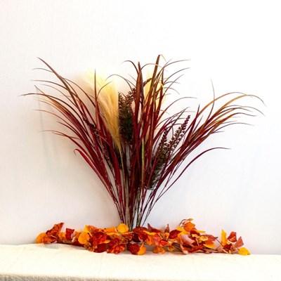 가을 감성 갈대 들꽃 조화 세트